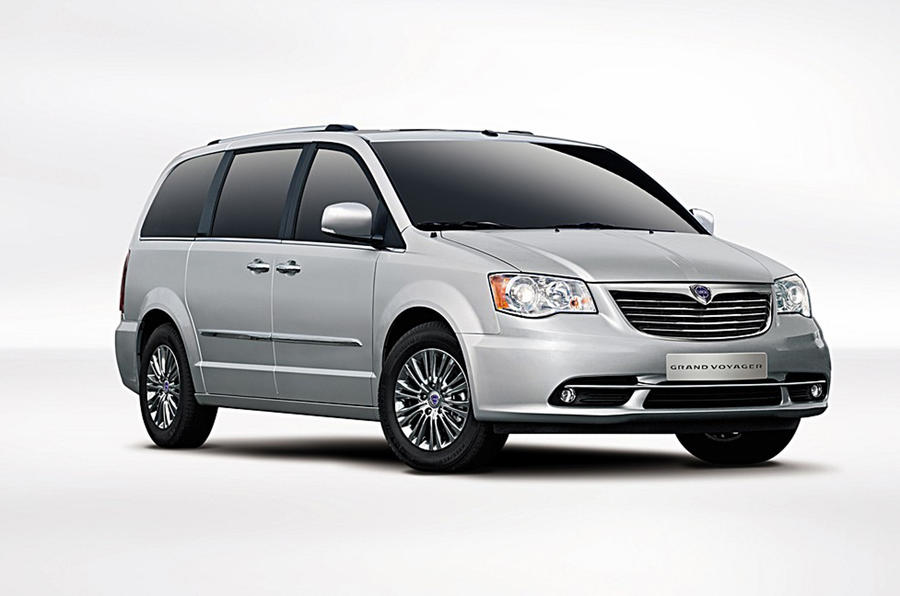 Lancia's four new Chrysler models