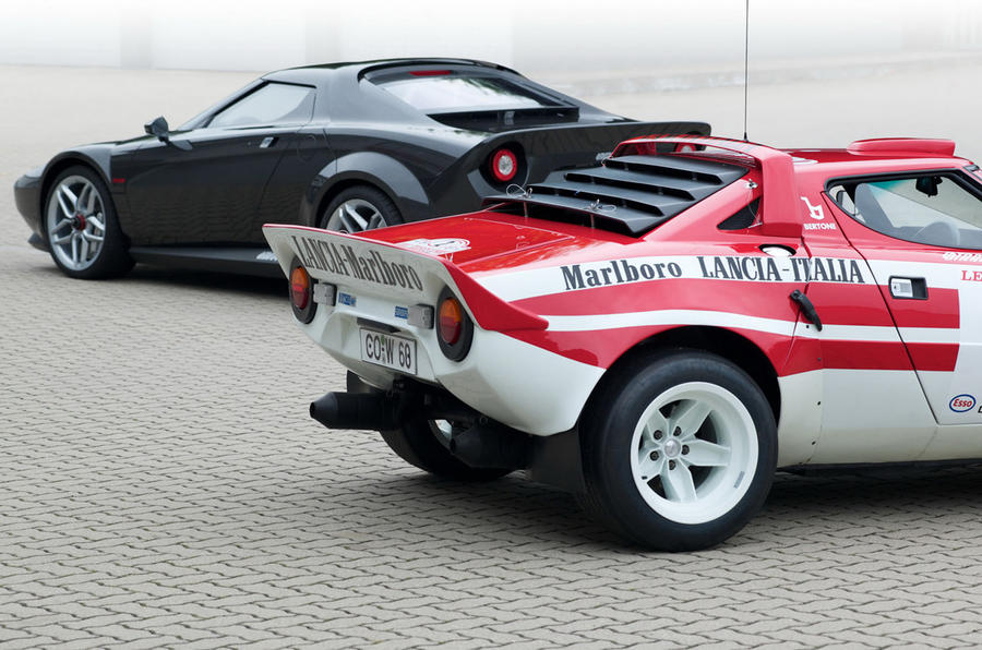 New Lancia Stratos - latest pics