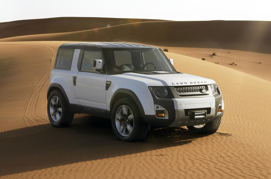 Next Defender will look more rugged than DC100 concept