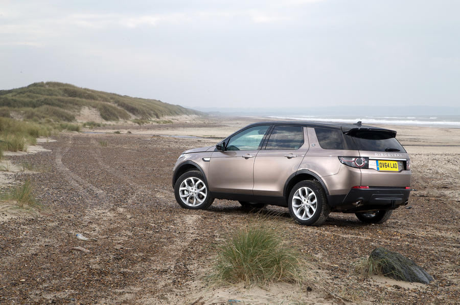 Land Rover Discovery Sport rear end