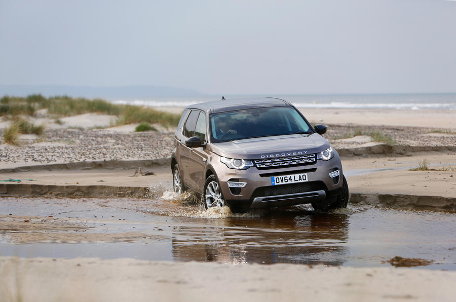 Land Rover Discovery Sport off-roading