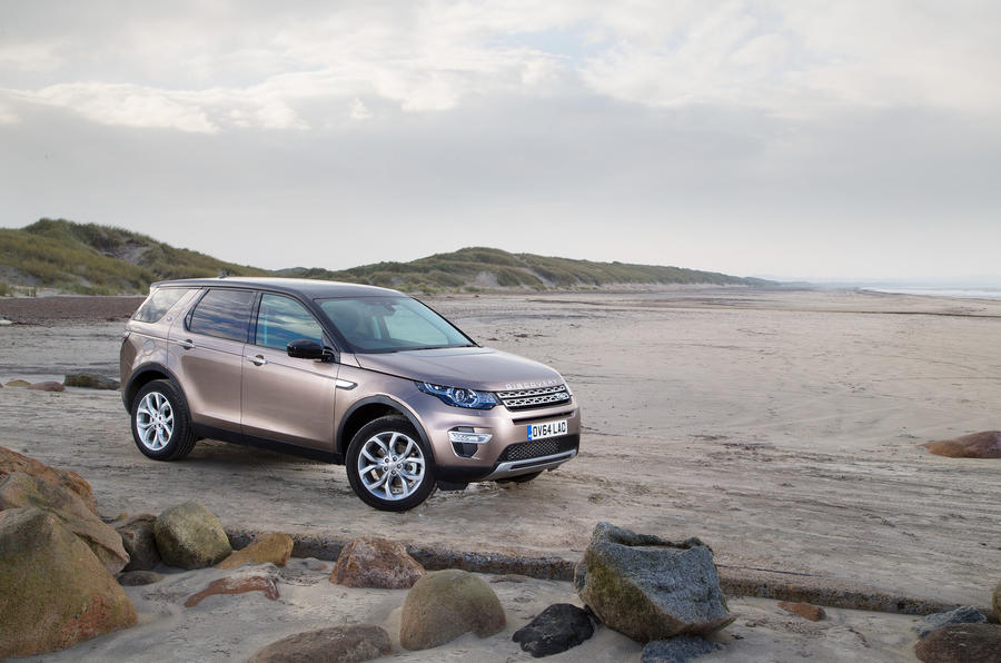 4 star Land Rover Discovery Sport