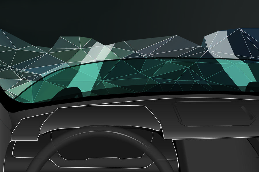 Land Rover plans see-through bonnet for new Discovery Vision concept
