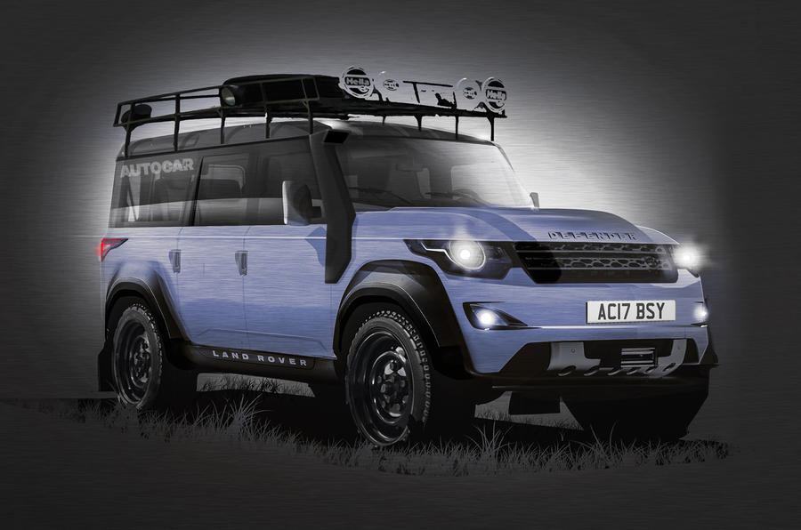 New Land Rover Defender 2016