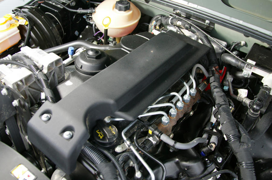 The Puma engine in the Defender