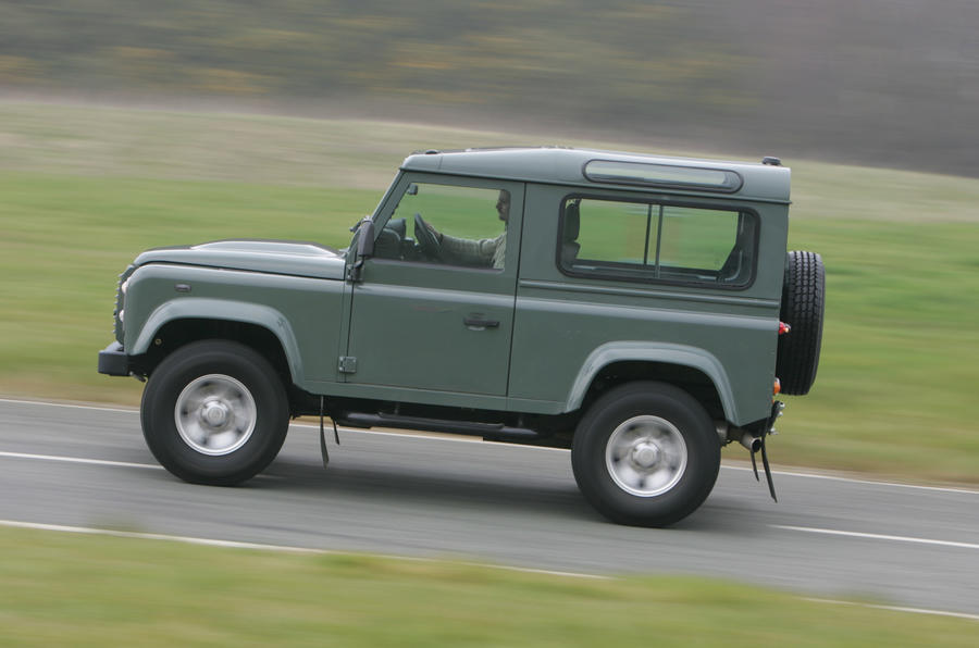 Land Rover Defender has good low-down torque
