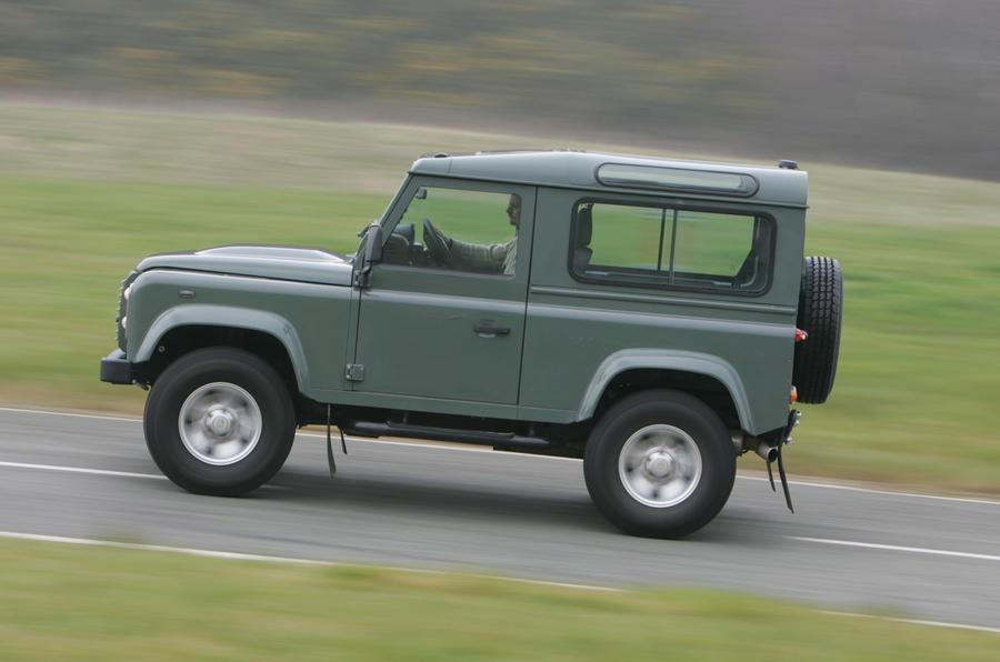 Land Rover Defender has good low-down torque