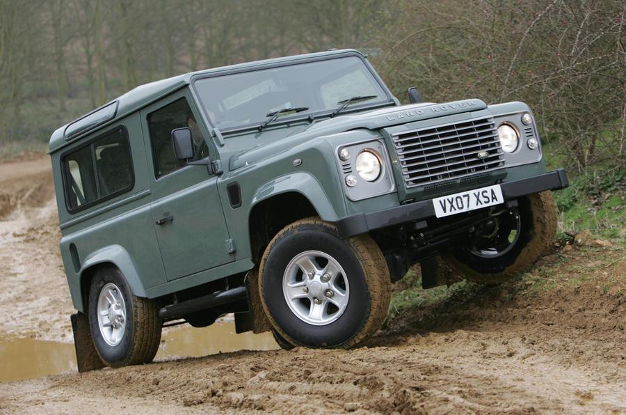 3 star Land Rover Defender