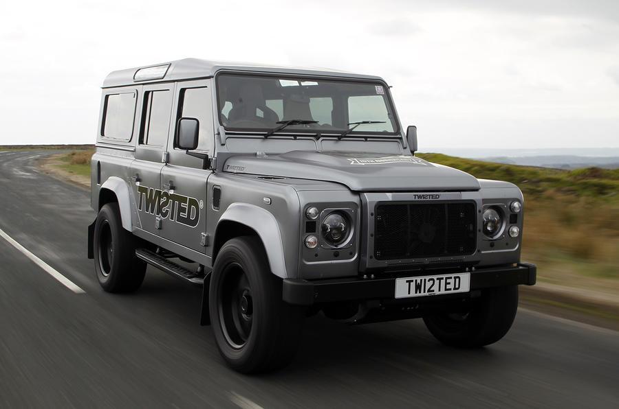 land rover defender twisted performance v8 first drive review autocar. Black Bedroom Furniture Sets. Home Design Ideas