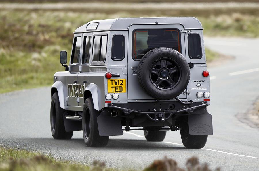520bhp Land Rover Defender Twisted Performance V8