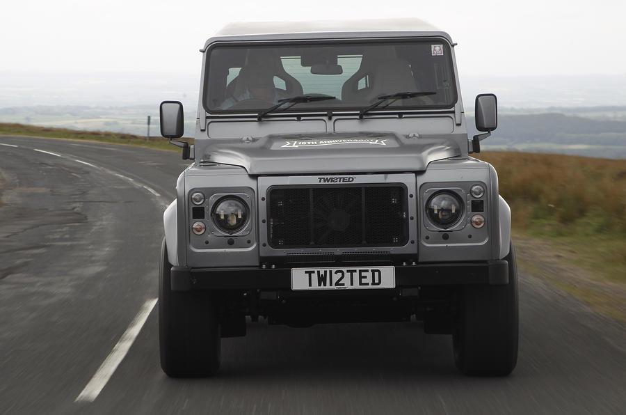 Land Rover Defender Twisted Performance V8 front end
