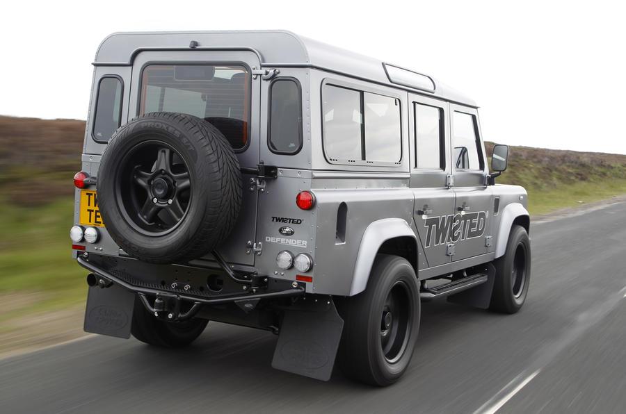 Land Rover Defender Twisted Performance V8 rear