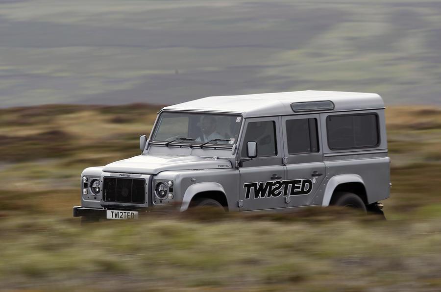 £140,000 Land Rover Defender Twisted Performance V8