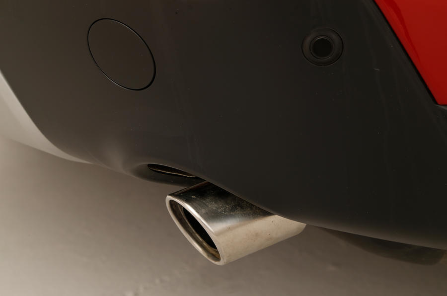 The dual exhaust system on the Discovery Sport is vital to the SUV's design symmetry