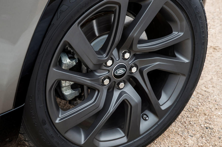 20in Land Rover Discovery alloy wheels