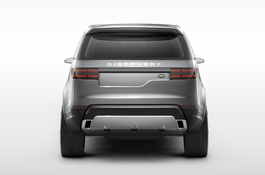 Land Rover previews new Discovery with Vision concept