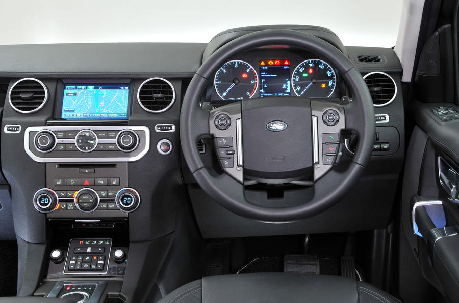 ... Discovery Interior; Land Rover Discovery Dashboard ...