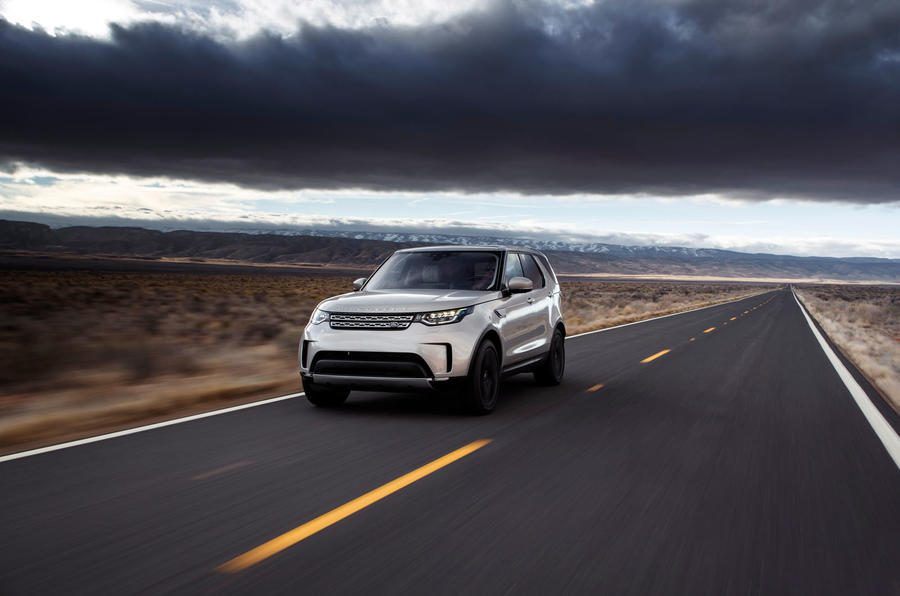 Land Rover Discovery front profile