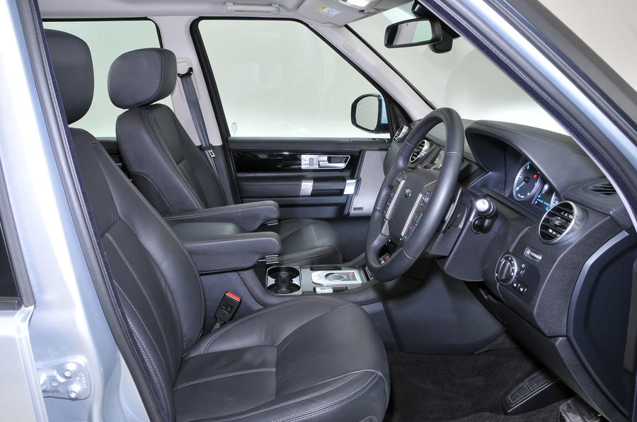 Amazing ... Land Rover Discovery Interior ... Idea