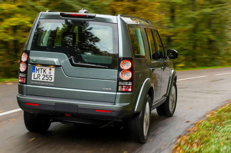 Land Rover Discovery rear cornering