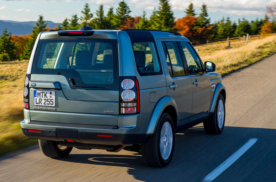 Land Rover Discovery rear quarter