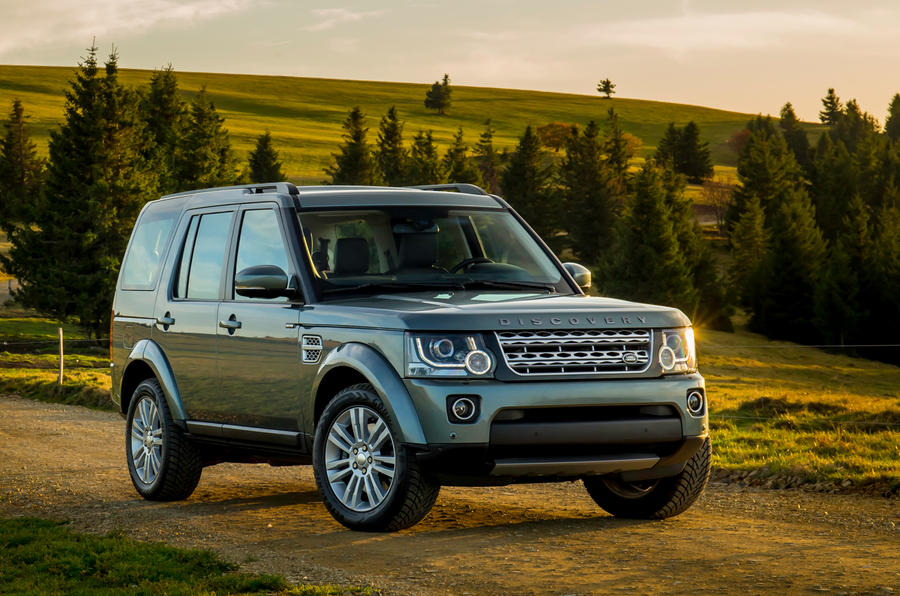 4 star Land Rover Discovery