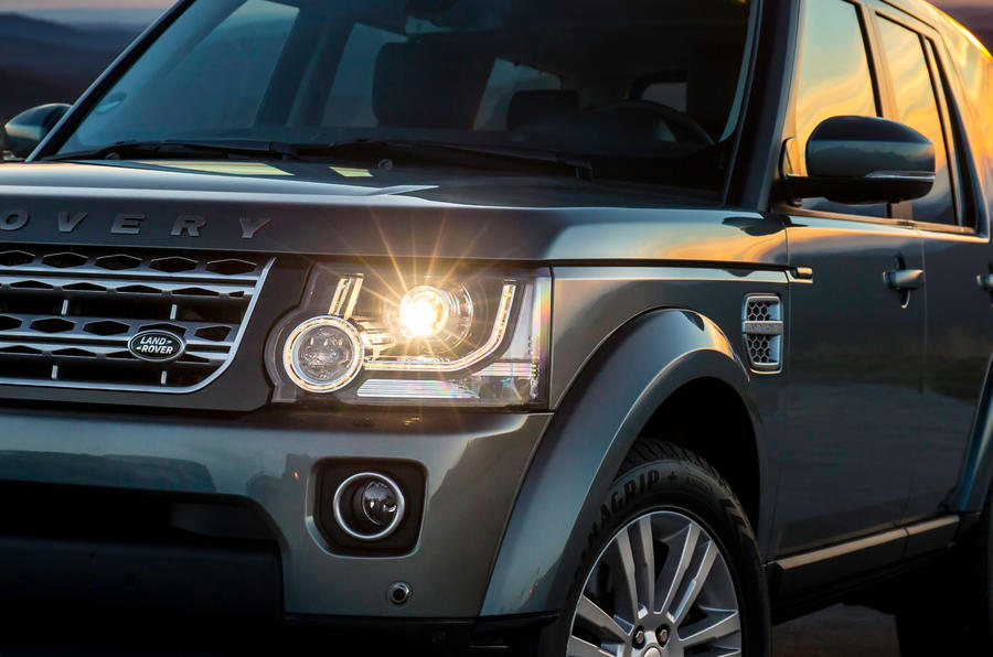 Land Rover Discovery LED lights