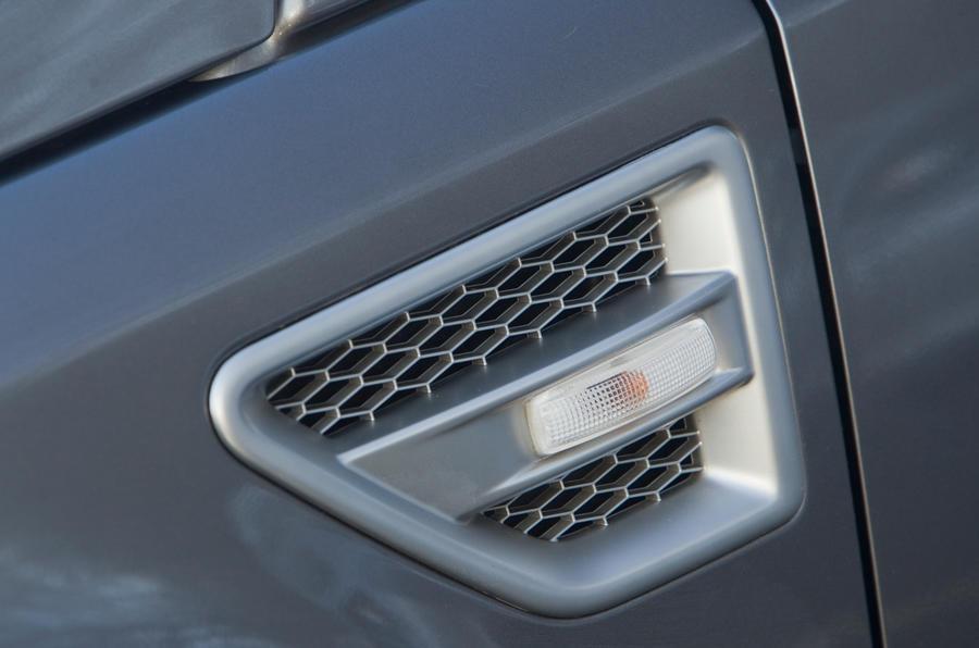 Land Rover Freelander discreet vents
