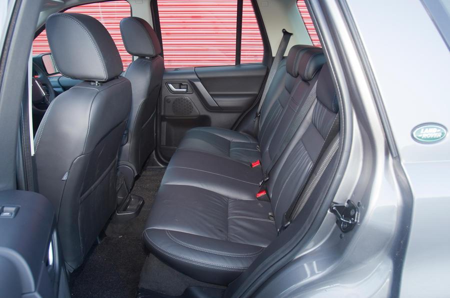 Land Rover Freelander rear seats