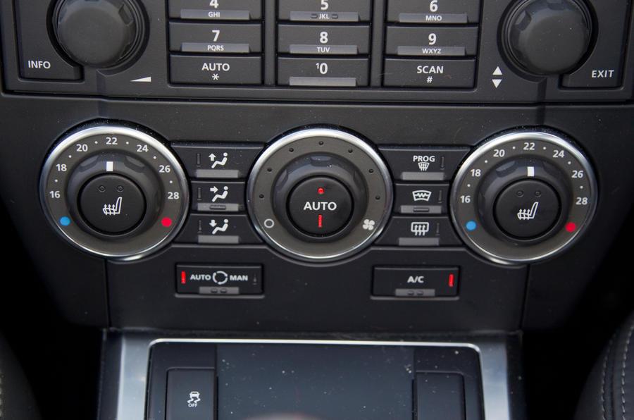 Land Rover Freelander switchgear