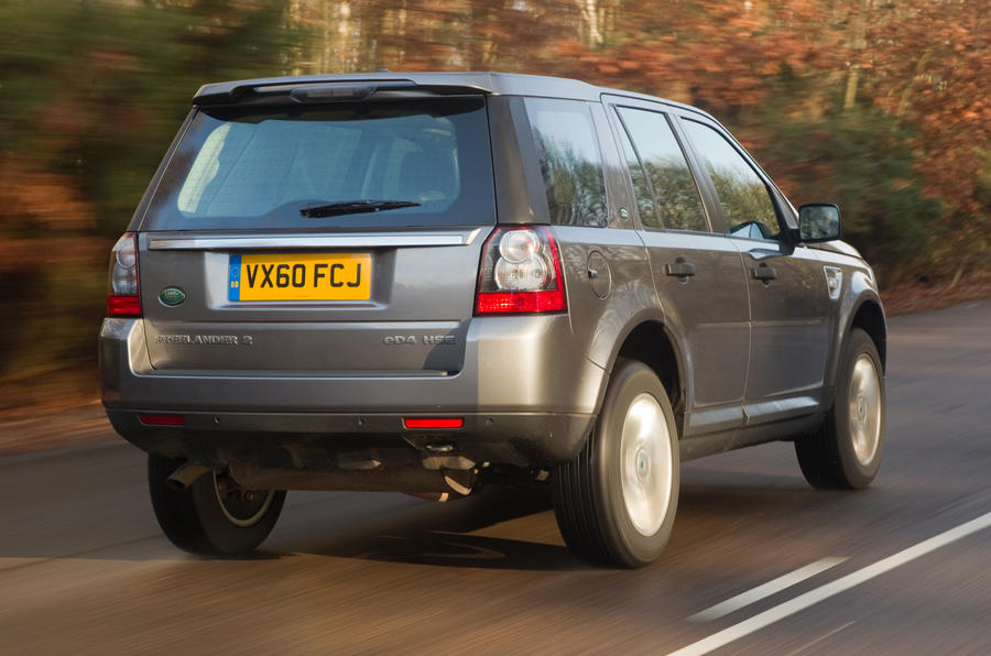 Land Rover Freelander rear quarter