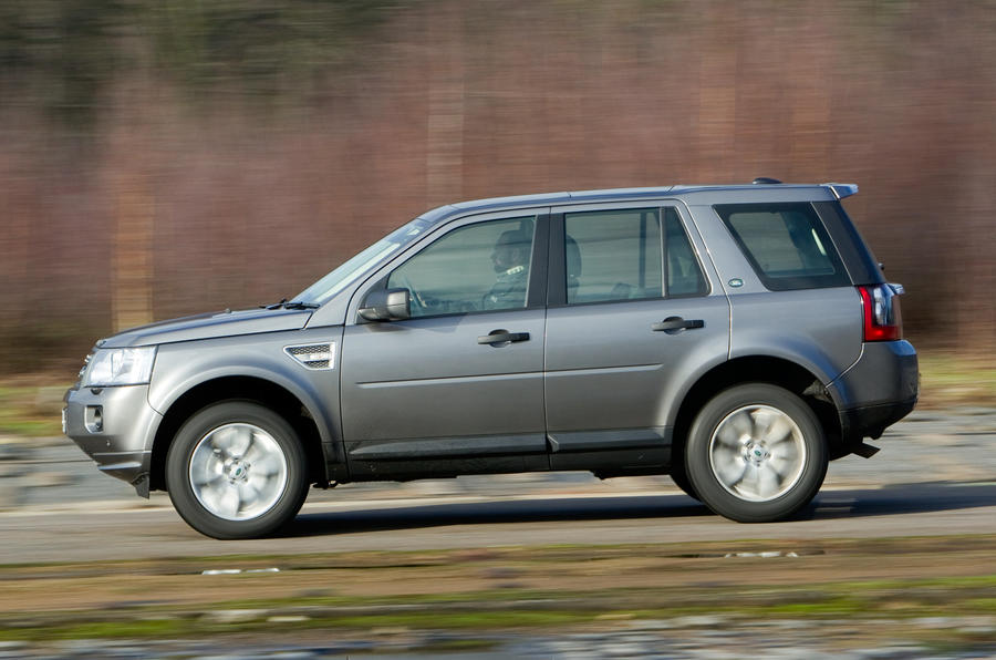 Land Rover Freelander side profile