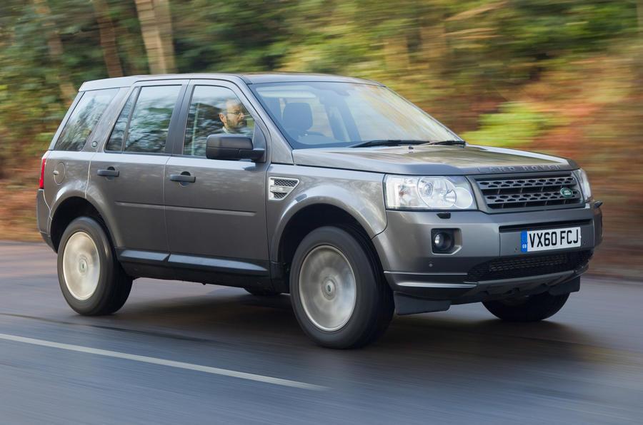 Land Rover Freelander front quarter