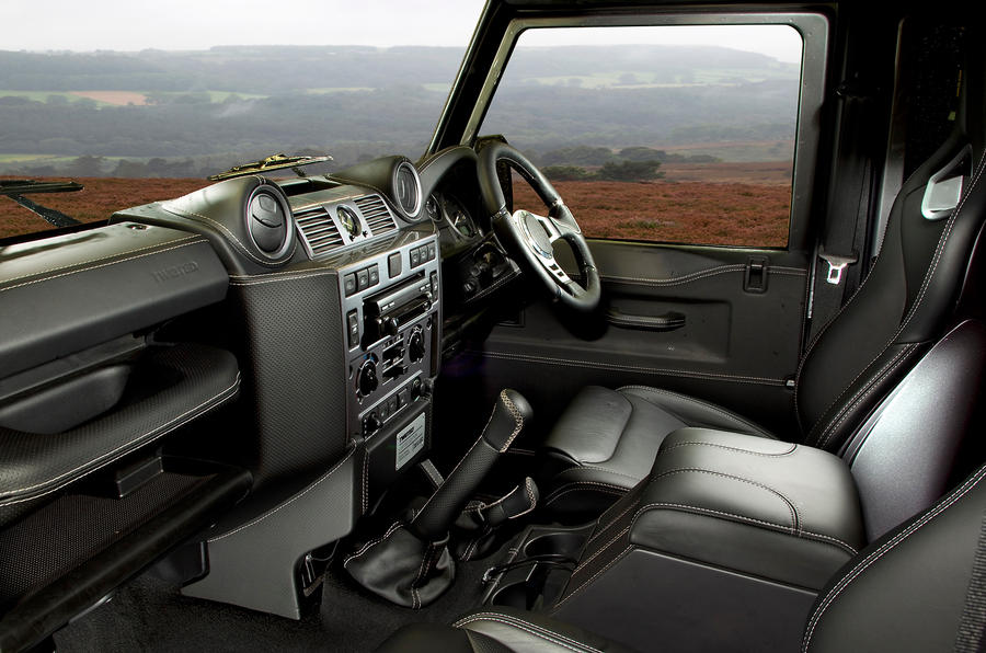 Twisted Defender 110 interior