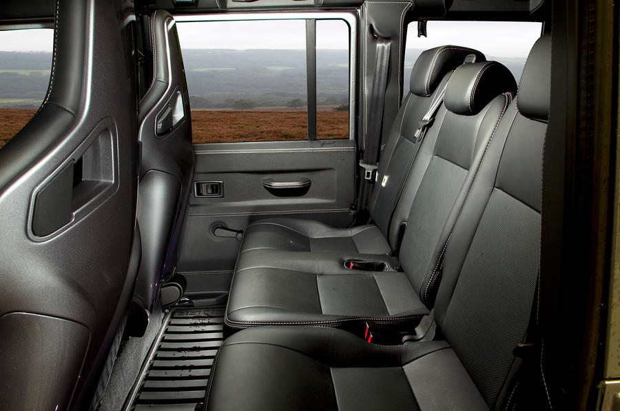Twisted Defender 110 rear seats