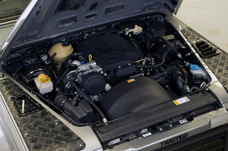 2.2-litre Twisted Defender 110 diesel engine