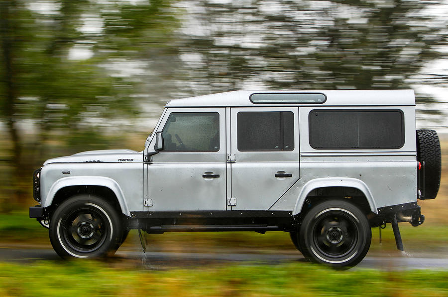 Twisted French Edition Defender 110 Review Autocar