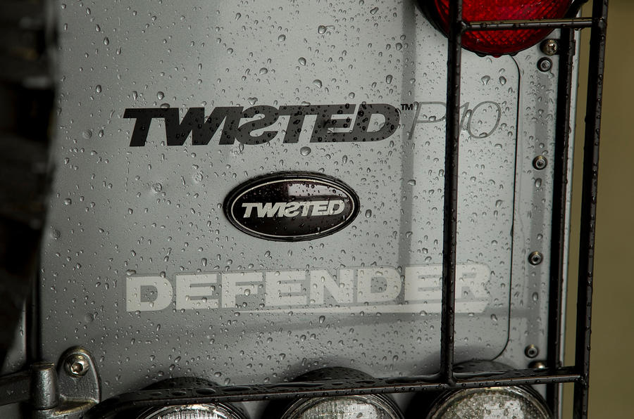 Twisted Defender badging