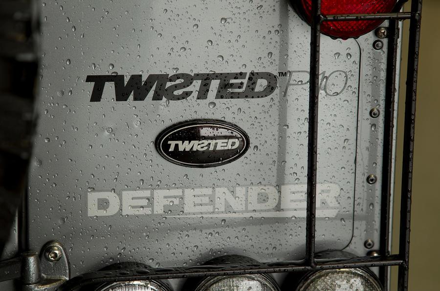Twisted Defender badging