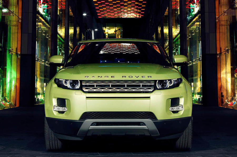Geneva: Range Rover Evoque's options