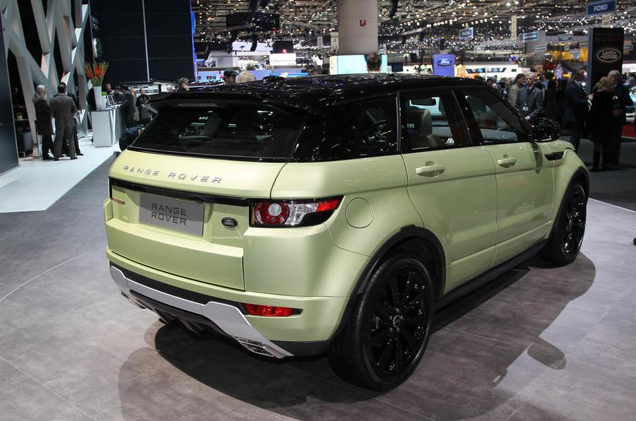Geneva: Range Rover Evoque's options