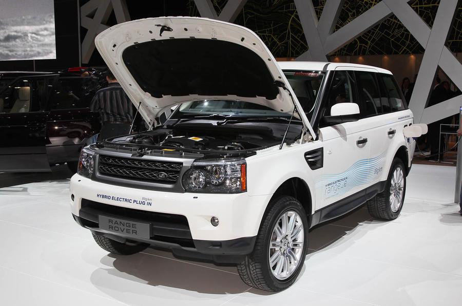 Geneva motor show: Range Rover hybrid