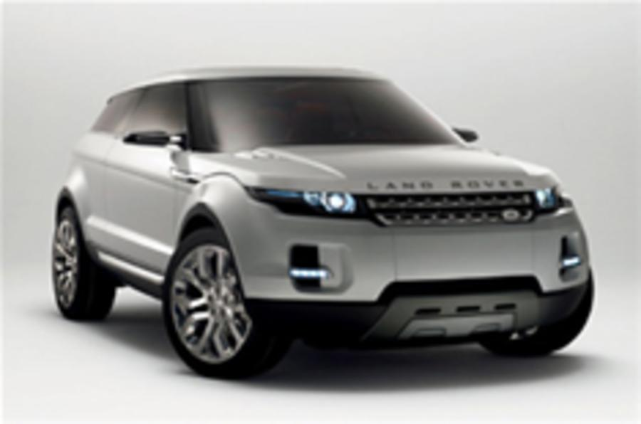 Revealed: Land Rover LRX