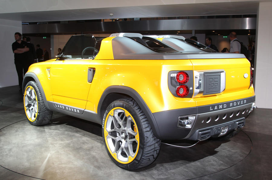 Frankfurt show: Land Rover Defender