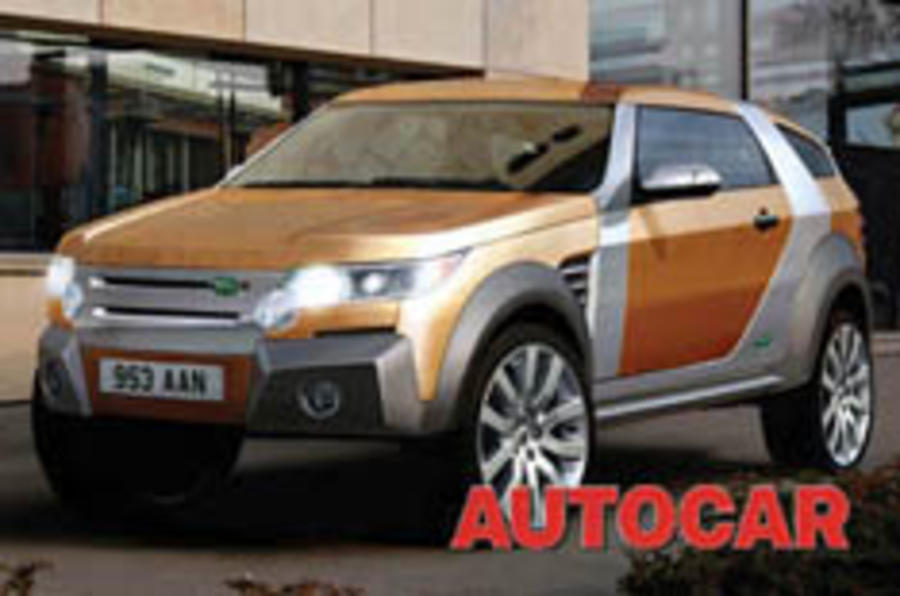 Land Rover's secret TT SUV uncovered