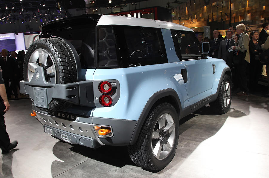 LA show: revised Defender concept