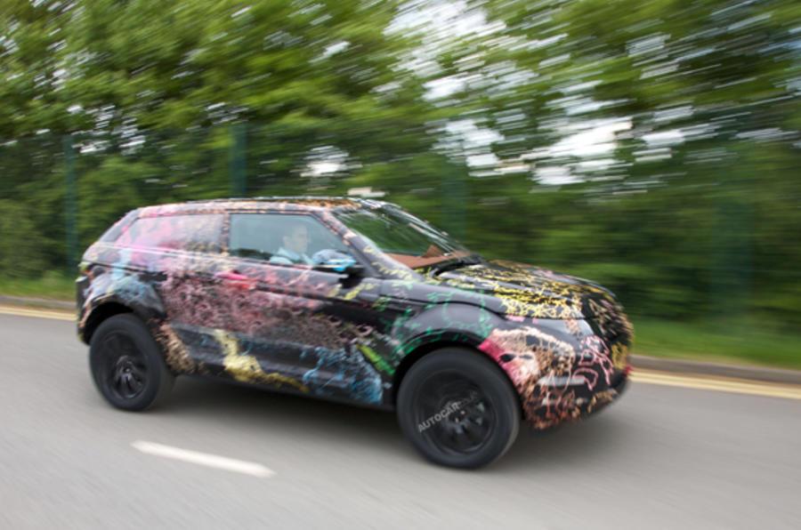Range Rover LRX: first pics