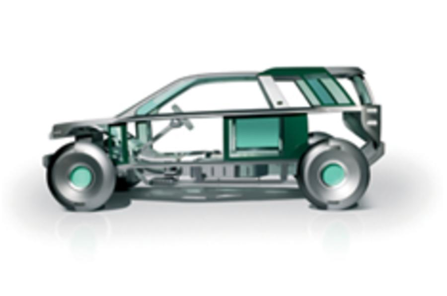 Hybrid Land Rover to arrive this year