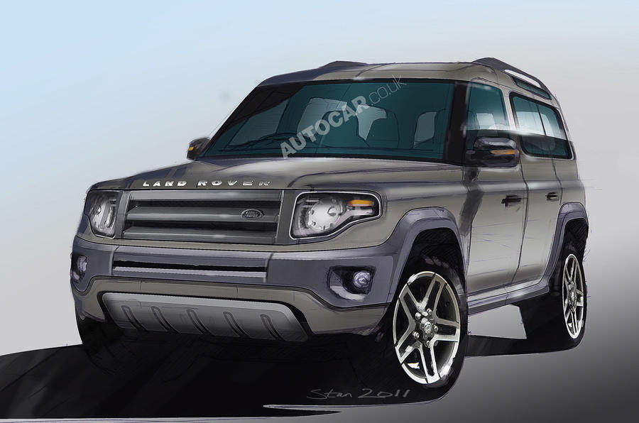 New Defender concept for Frankfurt