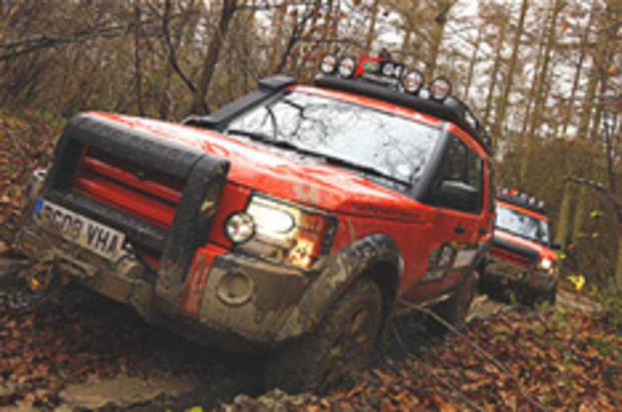 Land Rover cancels G4 Challenge